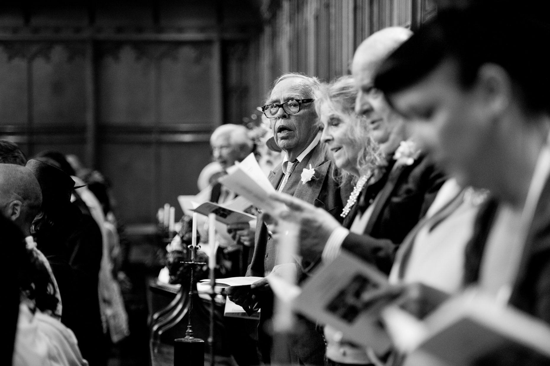 Black and White Wedding Photographer in Cambridge-9026