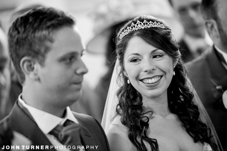 Monochrome Photography at a wedding